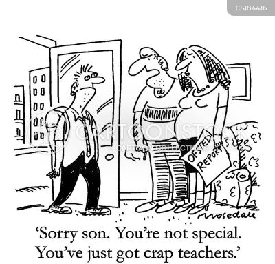 Special education comics