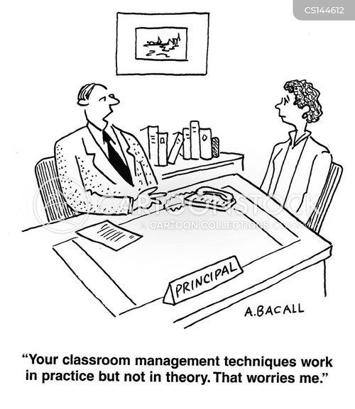 Classroom Management Techniques Cartoons and Comics