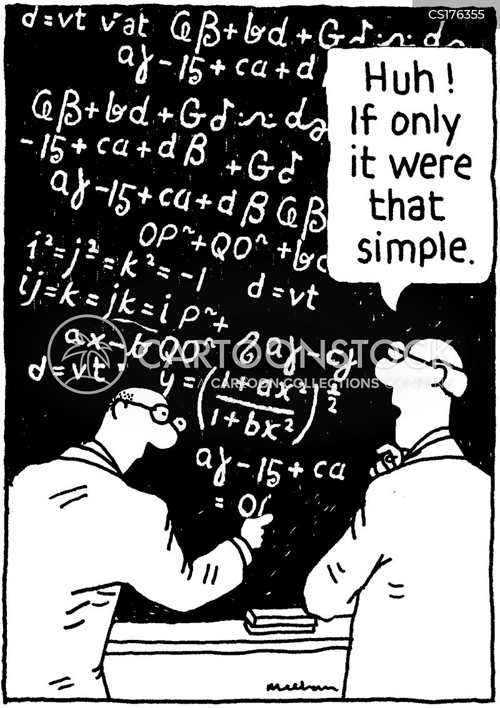 Scientific Formula Cartoons And Comics Funny Pictures