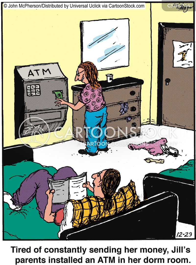 Money Cartoons And Comics Funny Pictures From CartoonStock