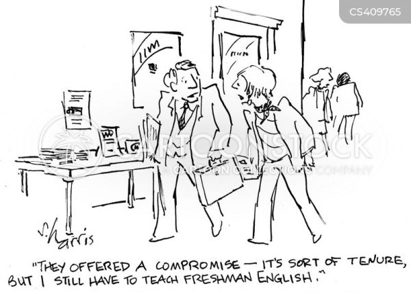 Tenure Cartoons and Comics - funny pictures from CartoonStock