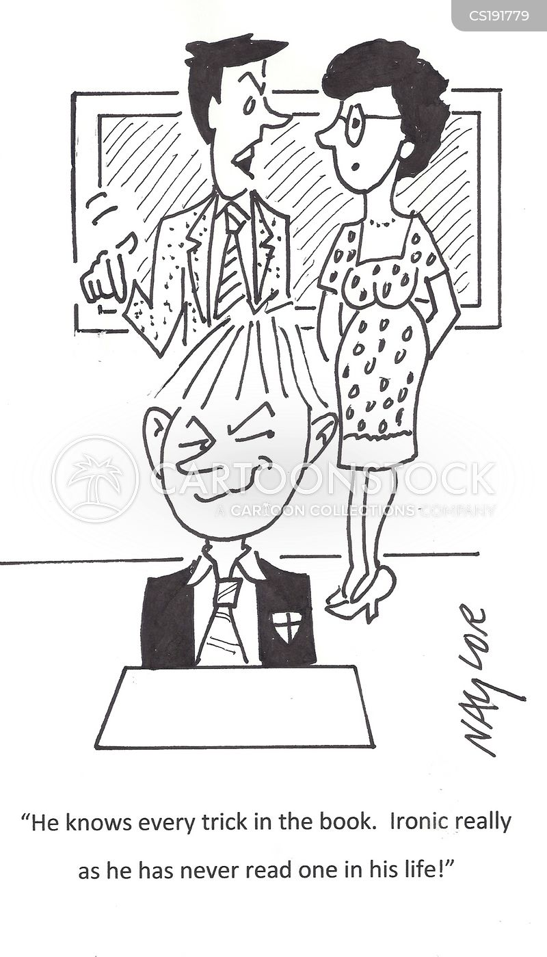 teaching cartoons