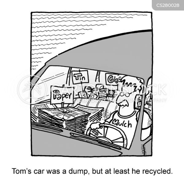 Messy Car Cartoons and Comics funny pictures from