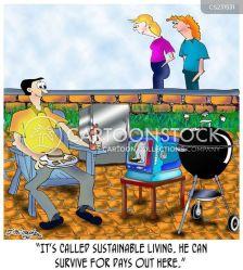 Outside Restaurant Cartoon