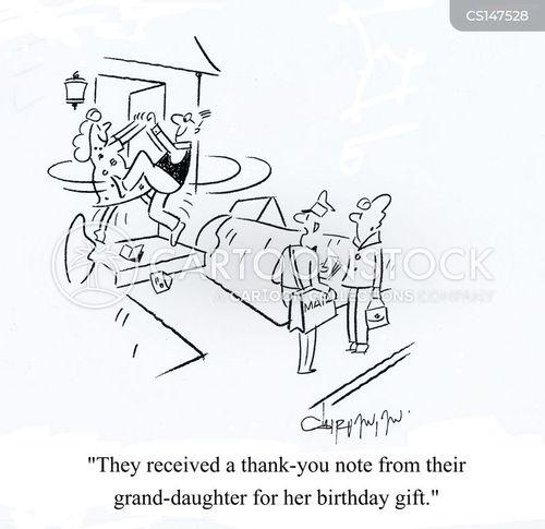 Thank You Note cartoons, Thank You Note cartoon, funny