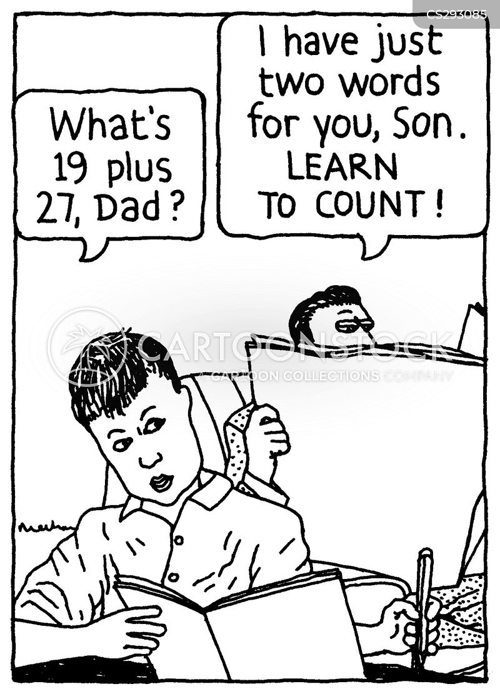 Cartoon image homework