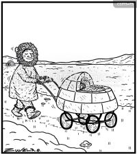 Push-chair Cartoons and Comics - funny pictures from ...