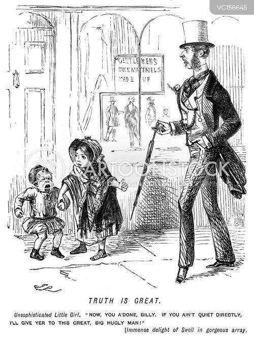 Attire Vintage and Historic Cartoons