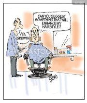 barbershops cartoons and comics