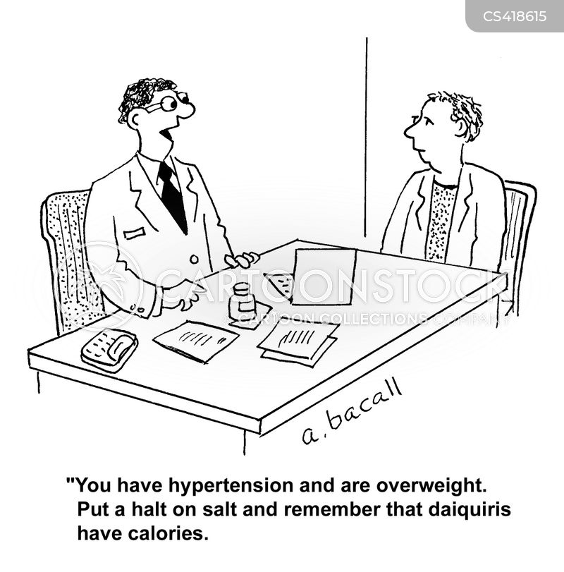Hypertency: Hypertension Cartoon