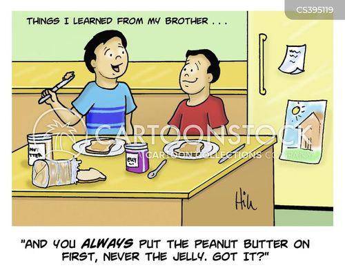 pb j cartoons and