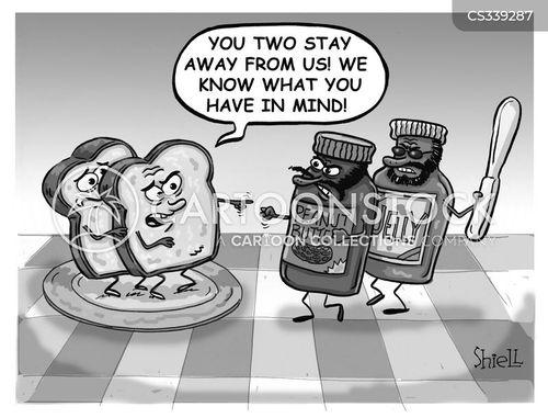 pb and j cartoons