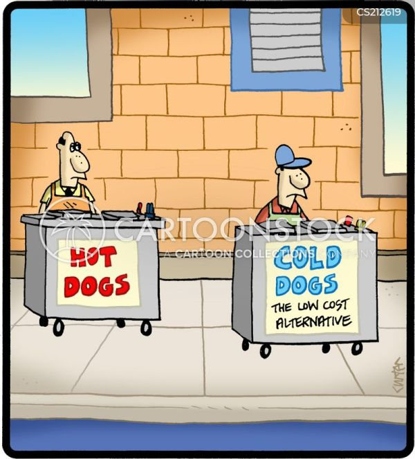 Food Vendor Cartoons and Comics funny pictures from