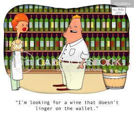 wine cheap expensive cartoon cartoons funny wines cellar cartoonstock food drink comics