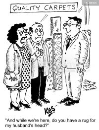 Carpet Sellers Cartoons and Comics - funny pictures from ...