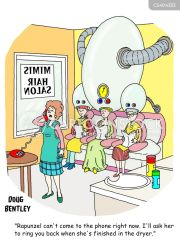 hair drier cartoons and comics