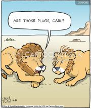 lion cartoons and comics - funny