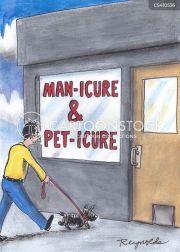 nail salon cartoons and comics