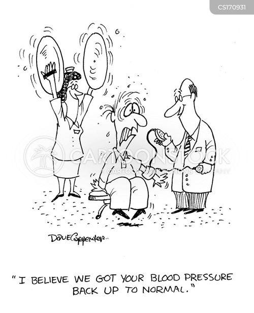 Hypertency: Hypertension Cartoon