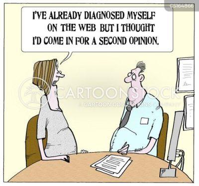 بعض المرضى يقوم بتشخيص نفسه عبر الانترنت