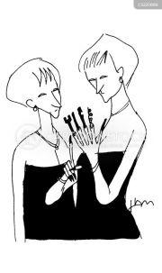 fingernail cartoons and comics
