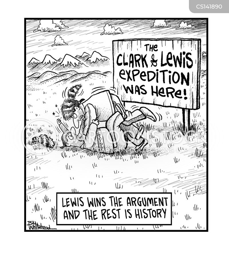 Lewis And Clark Expedition Cartoon