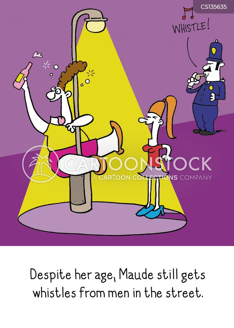 Pole Dancing Cartoons and Comics - funny pictures from ...