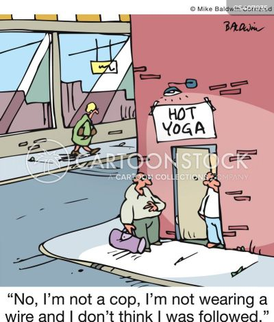 Hot Yoga Cartoons And Comics Funny Pictures From Cartoonstock