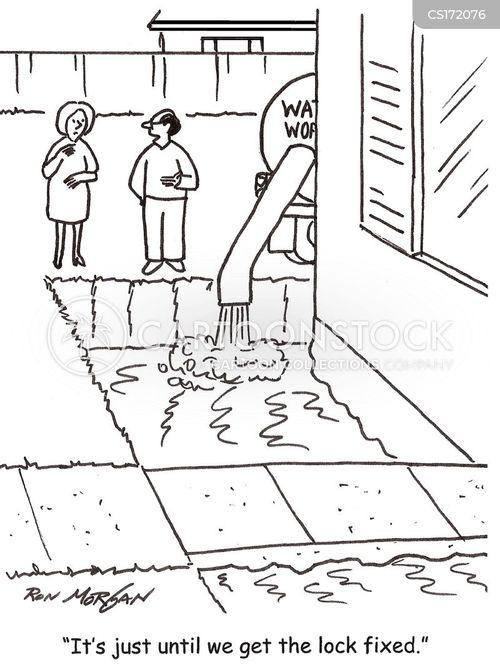 Crime Prevention Cartoons