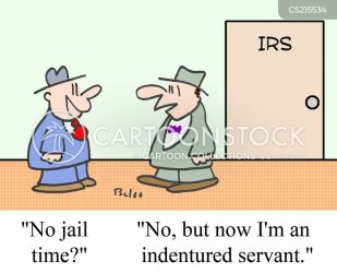 Indentured Servants Cartoons and Comics funny pictures from CartoonStock