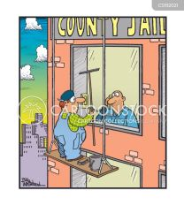 window washer washing cartoon cartoons funny cleaning cleaners prison comics political cartoonstock regime foundations privilege fountain markets economy choice france