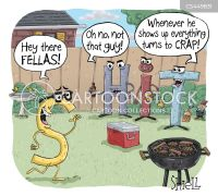 Backyard Barbecue Cartoons and Comics - funny pictures ...