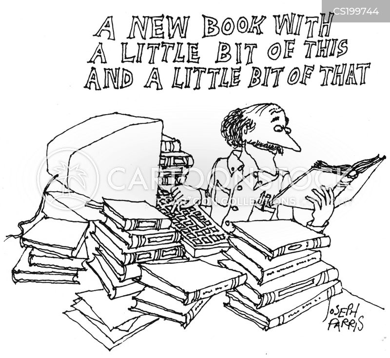 Book reviews and summaries for books cartoon