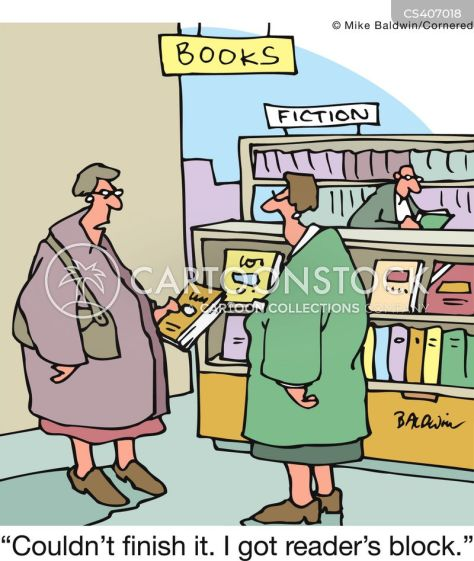 Image result for writer as reader cartoon