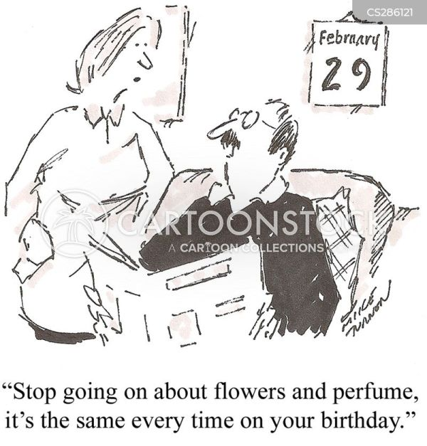 Leap Year Cartoons and Comics funny pictures from