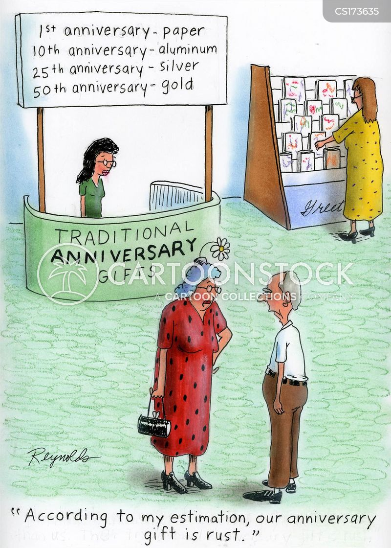Wedding Anniversary Cartoons and Comics  funny pictures