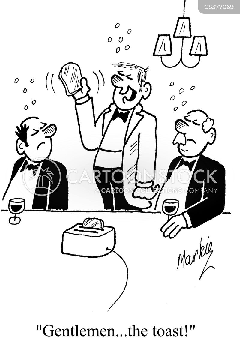 Best Mans Speech Cartoons and Comics  funny pictures