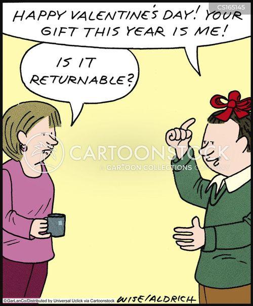 Funny Valentine Cartoons : funny, valentine, cartoons, Valentine, Cartoons, Comics, Funny, Pictures, CartoonStock