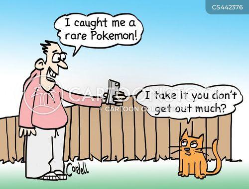 pokemon craze cartoons and