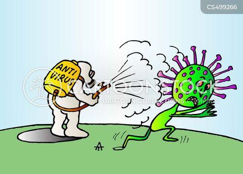 Corona Virus Funny Cartoon Images