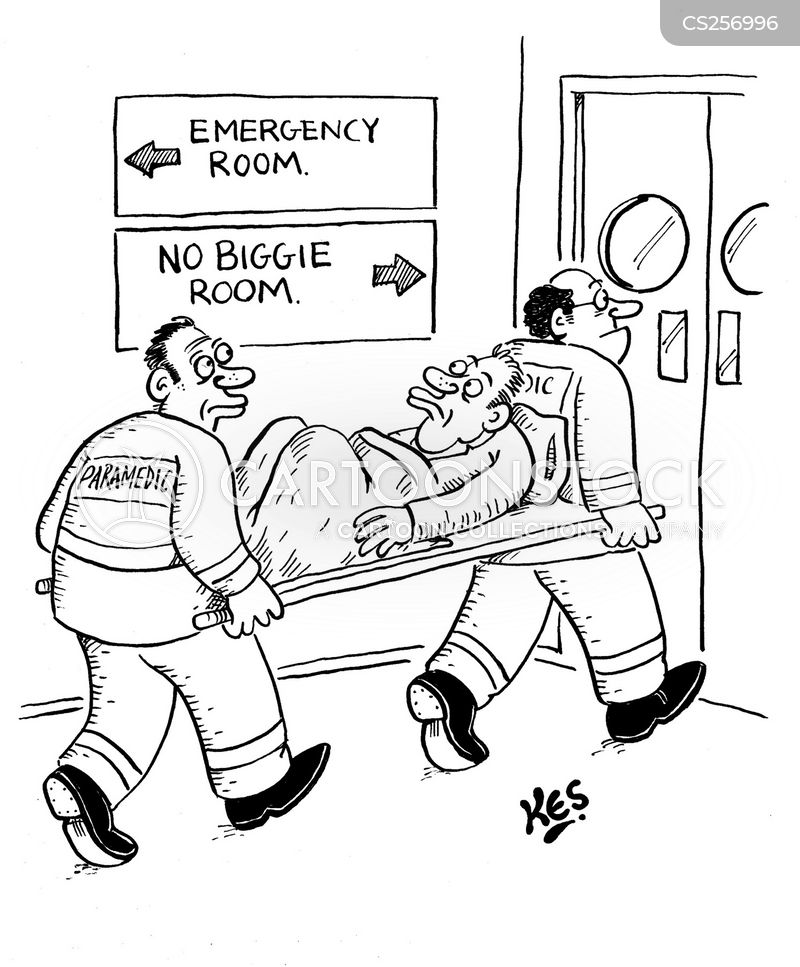 Accident And Emergency Department Cartoons and Comics