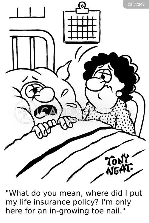 Cartoons und Karikaturen mit Unheilbar