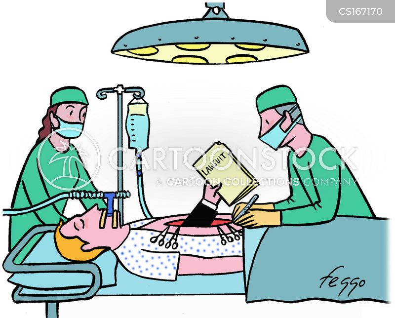 Medical Lawsuit Cartoons and Comics  funny pictures from