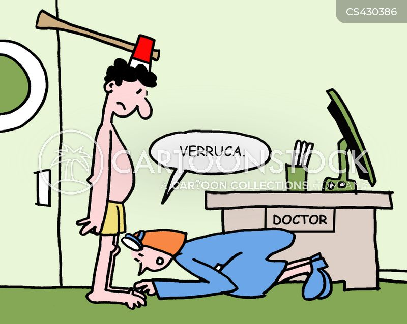 Funny Cartoon Infection Diagnosis