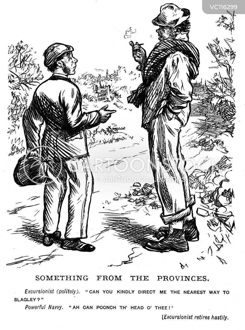 Manual Labour Vintage and Historic Cartoons