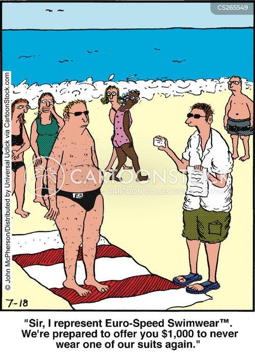 Speedos Funny : speedos, funny, Speedo, Cartoons, Comics, Funny, Pictures, CartoonStock