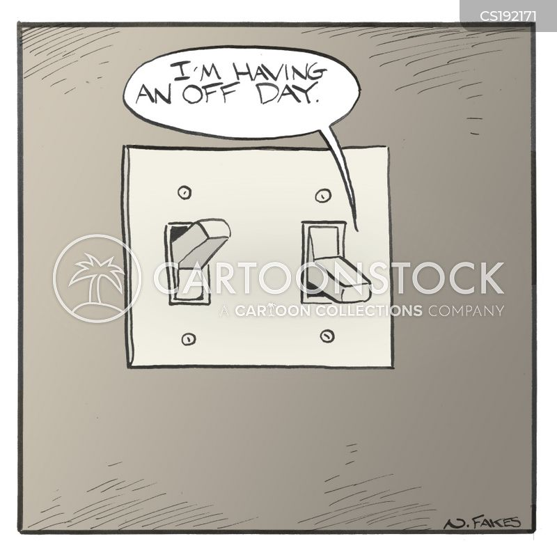 light switch cartoons and