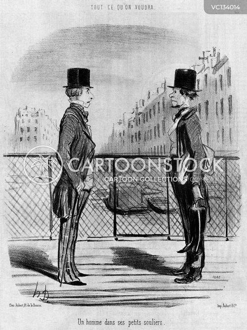 Etre Dans Ses Petits Souliers : petits, souliers, Cobbler, Vintage, Historic, Cartoons