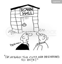 Townhall Cartoons and Comics funny pictures from CartoonStock