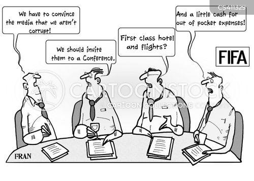 Fifa World Cup News and Political Cartoons